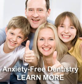 Anxiety free dentistry